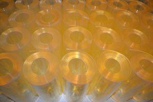 Antisztatikus PVC szalagok tekercsben