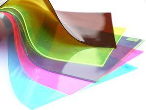 Ipari PVC lemez, színes