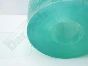 fagyálló, sima, átlátszó PVC szalag