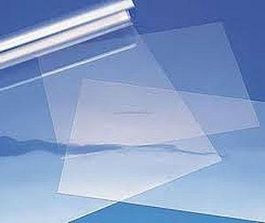Ipari PVC lemez, átlátszó