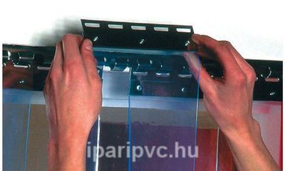 Felfüggesztő rendszer PVC szalaghoz